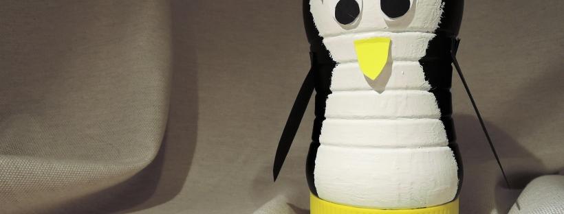 Hervorragend Spardose: basteln zum Tag der Pinguine – Eine Tüte Glück RI78