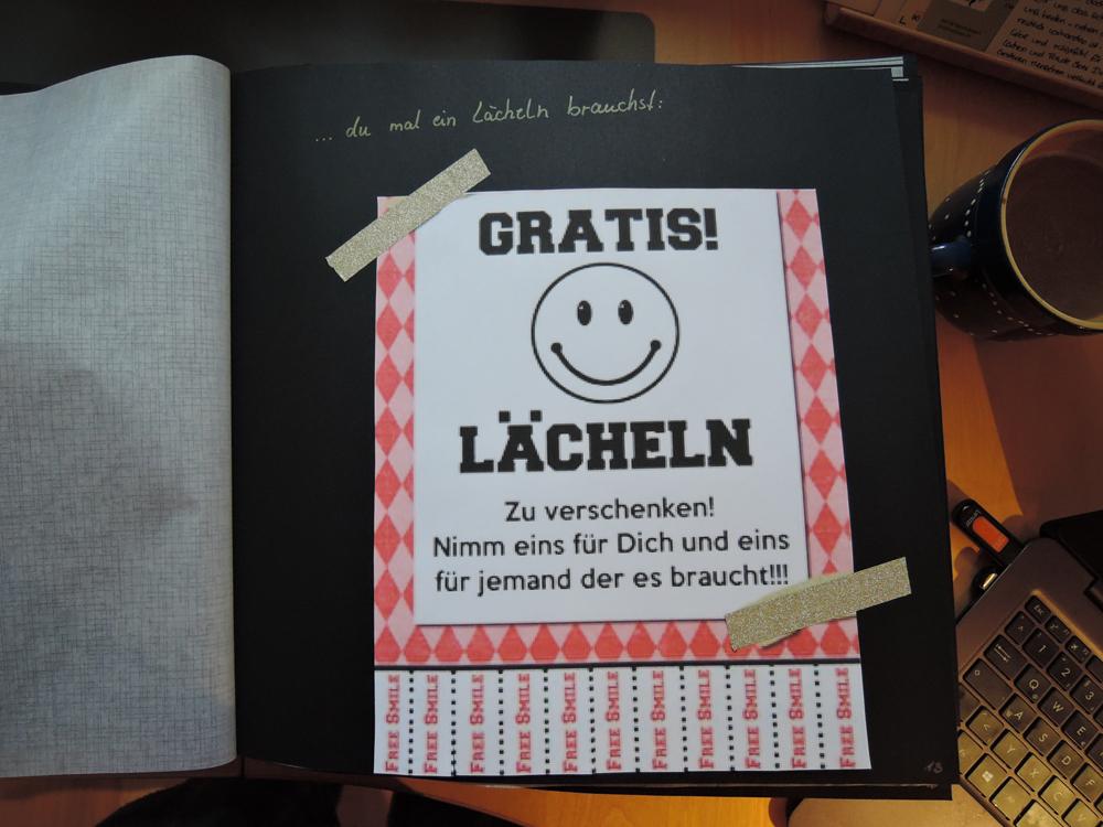 Ganz Persönliches Weihnachtsgeschenk Das Wenn Buch Eine Tüte Glück